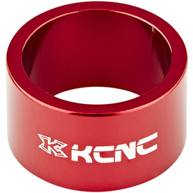 "KCNC Headset Spacer 1 1/8"" 20mm rød"